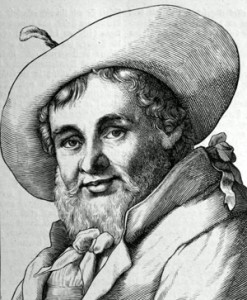 Porträtsstich Andreas Hofers, Leipzig 1854