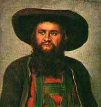 Andreas Hofer                              (Ölgemälde: Franz von Defregger)