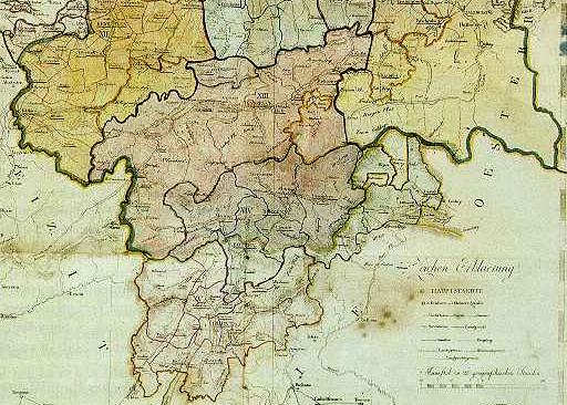 Südliches Bayern 1806-1810