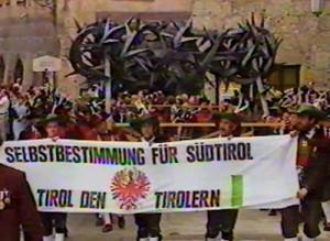 Landesfestumzug in Innsbruck 1984: 175 Jahre Tiroler Freiheitskampf