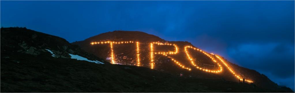 Tirol Bergfeuer