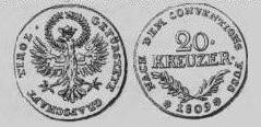 Tiroler Münzen der Regentschaft Hofers 1809
